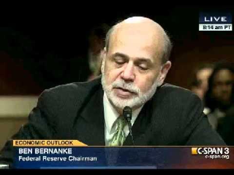 Senator Bernie Sanders Interrogates Fed Chairman Ben Bernanke - June 7, 2012
