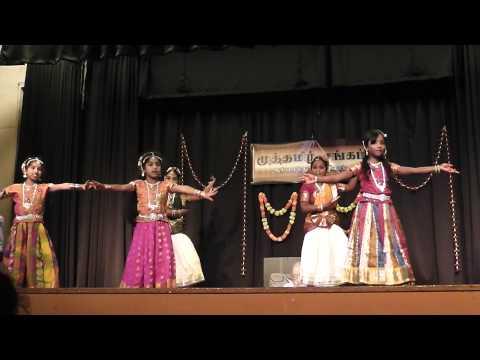 Senthamizh Nadu Dance by Kaviya from Anujay School of Dance