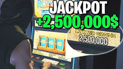 2,500,000 $ SLOT MACHINE JACKPOT 💰🤑 GTA 5 Online Casino DLC