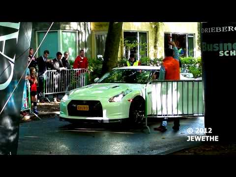 Nissan GT-R Extremely Fast Acceleration! - Droomrit Voor Het Leven 2012 (1080p Full HD)