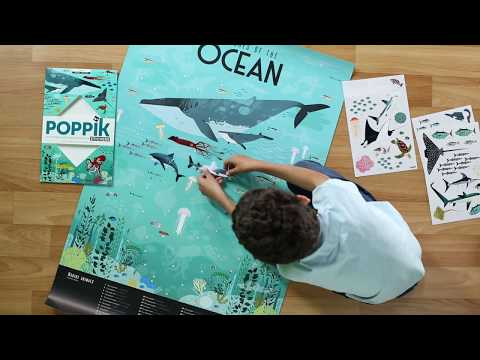 Poppik : Les animaux marins en stickers