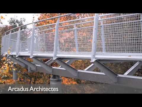 Grand Prix d'Architecture  de Wallonie : Nominés 2012 - Ouvrages d'art/espaces extérieurs