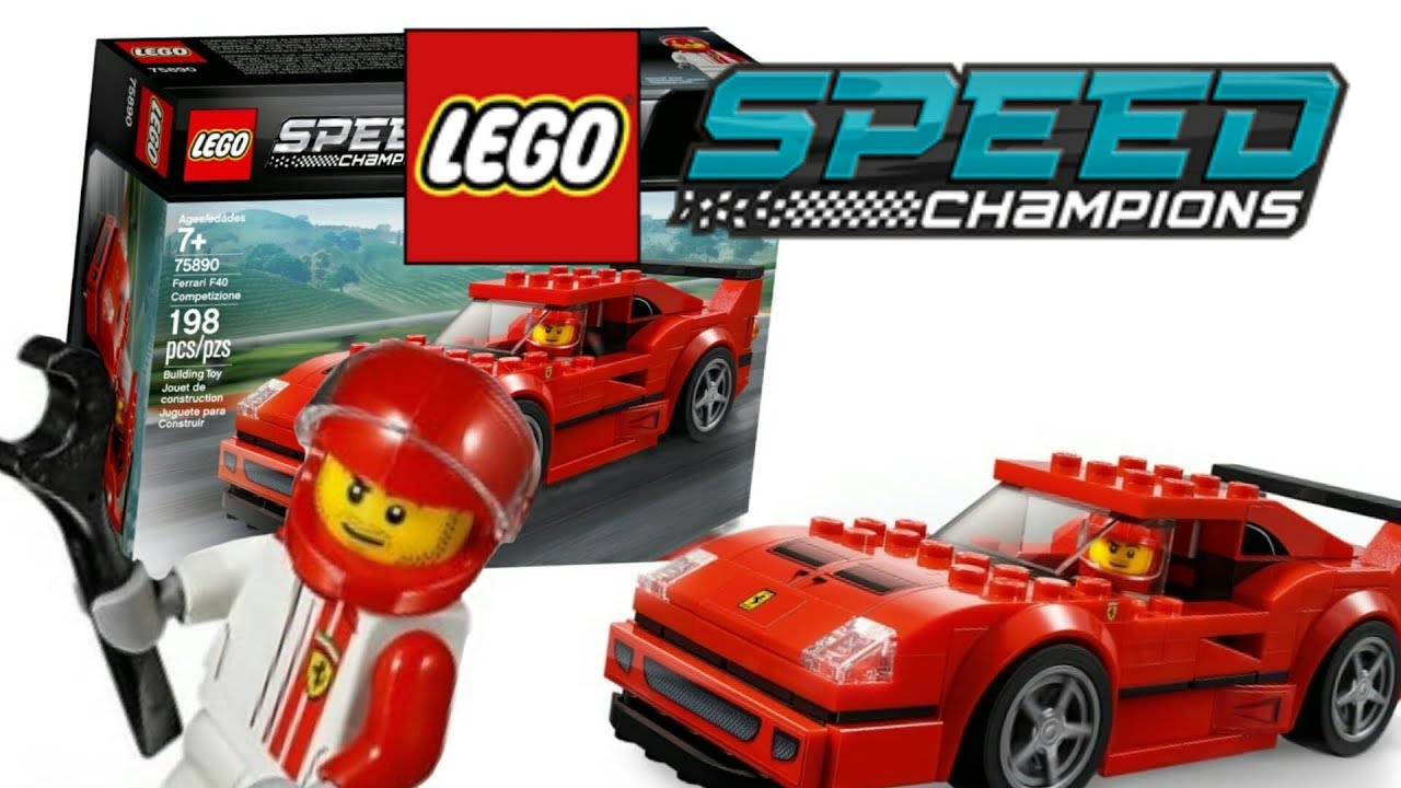 2019 75890 Lego Speed Ferrari Champions Quick Review F40 Competizione Set zMpSGLqUV
