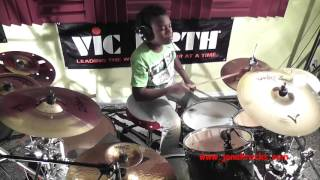 Megadeth - Symphony of Destruction, Jonah Rocks on Drums, Age 11