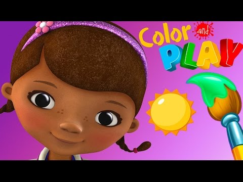 Doc Mcstuffins Color And Play Doc S Check Up Room Coloring Book