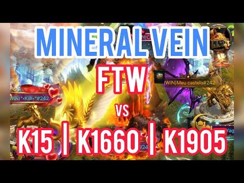 Clash Of Kings - Mineral Vein - FTW Vs K15 | K1660 | K1905