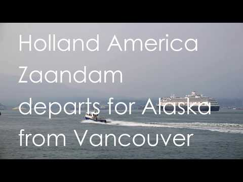 "Holland America ""Zaandam"" departs for Alaska from Vancouver Canada Place (04)"