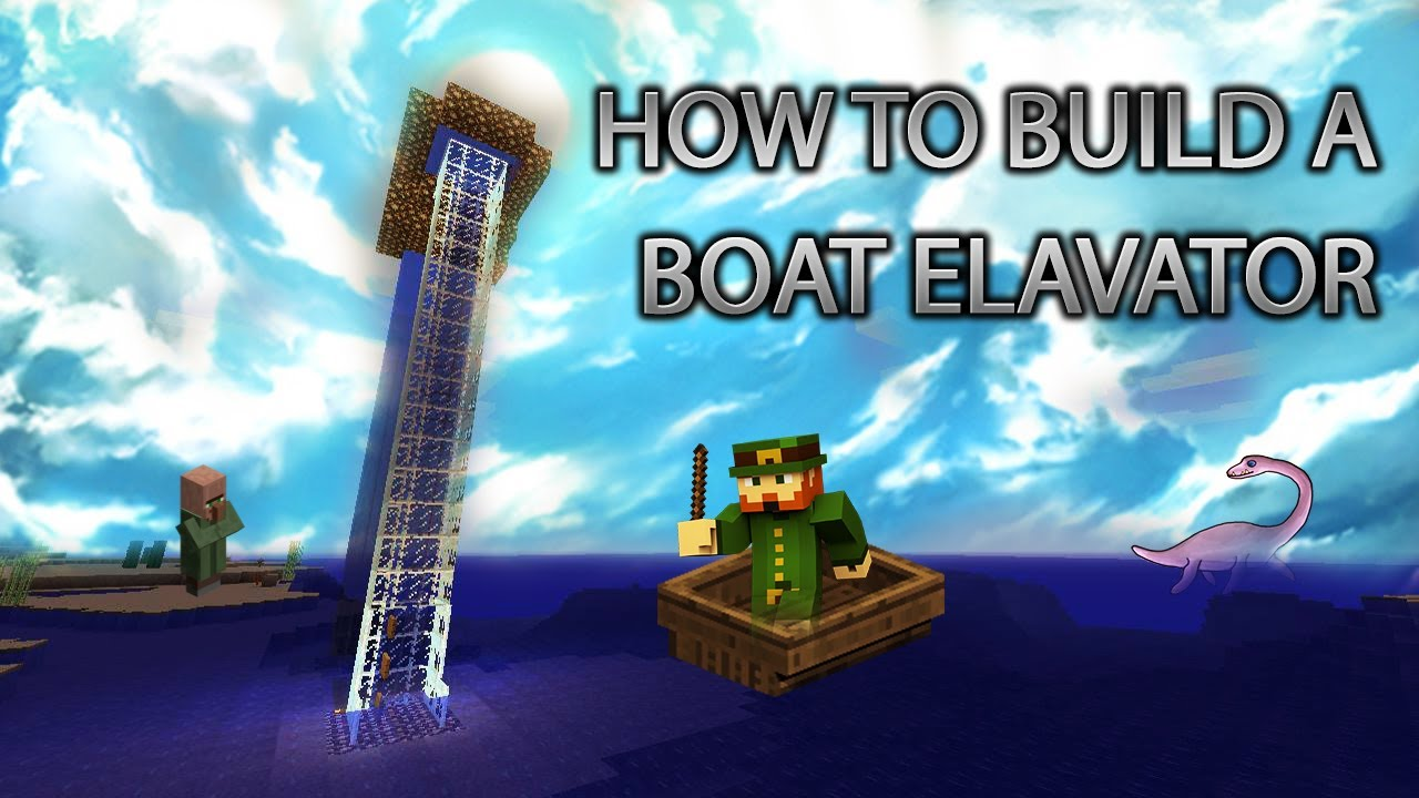 Minecraft Xbox 360: How to Build a Boat Elavator (LIFT) cRz Build Team