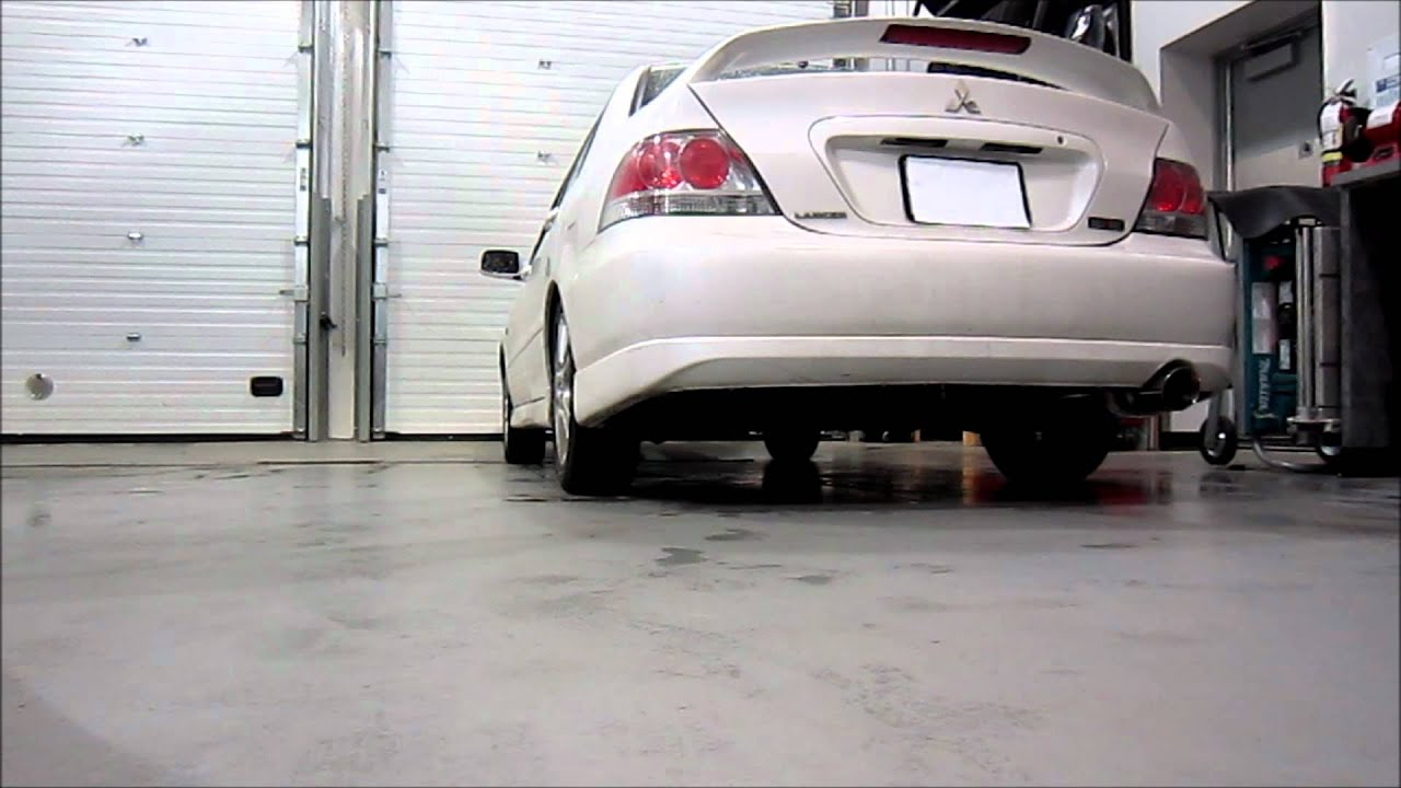 2004 Mitsubishi Lancer Ralliart Magnaflow Exhaust (Part ...