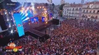 "Magic System Feat. Chawki :""Magic in the Air""+""Time Of Our Lives"" Live@ La fête de la musique 2014"
