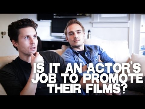 Is It An Actor's Job To Promote Their Films? by Kris Lemche & Joey Kern