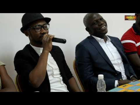 CONFERENCE DE PRESSE ET PRESENTATION DU SINGLE ET DU CLIP DE LUNIC