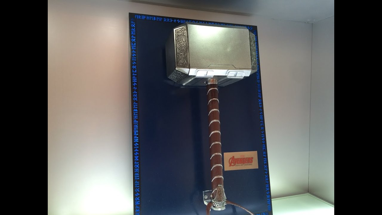 King Arts Thor Hammer Wall Mounted Version 1 1 Scale