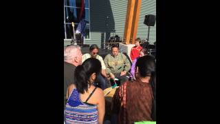 Mount Susitna Intertribal Drummers and Singers perform American Indian Flag Song - Video #1