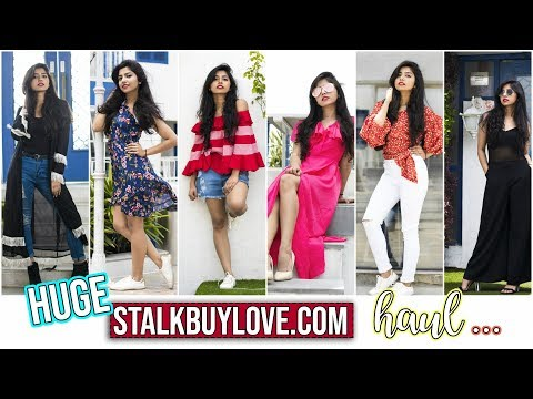 Stalk Buy Love Spring Haul   Try On Haul   Trendy Clothes At Affordable Prices