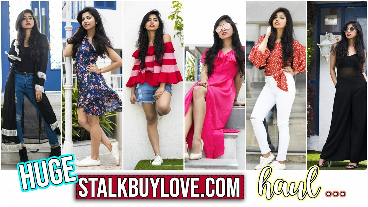 c8bfd2b2a881 Stalk Buy Love Spring Haul | Try On Haul | Trendy Clothes At Affordable  Prices