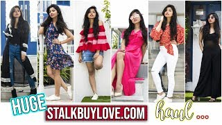 Stalk Buy Love Spring Haul | Try On Haul | Trendy Clothes At Affordable Prices