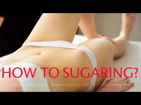 How to make SUGARING PROCEDURE? - Sugaring Factory