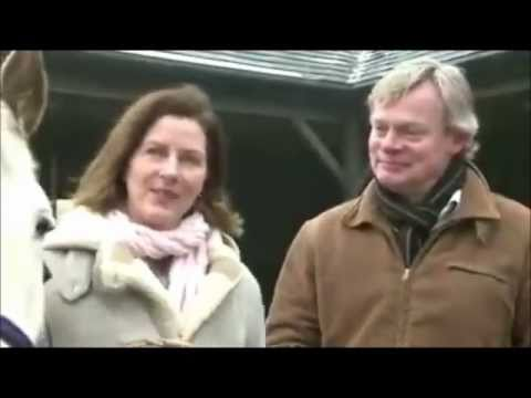 Martin Clunes and Philippa (Braithwaite) Clunes - Horse adoption