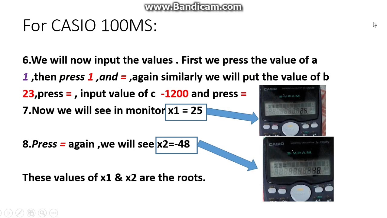 📚 how to use your fx-991es plus calculator to find the roots of a.
