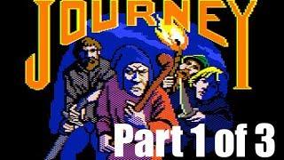 Journey (Part 1 of 3) walkthrough (Apple II - Infocom)
