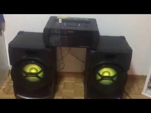 Démonstration Sony Shake-X3D