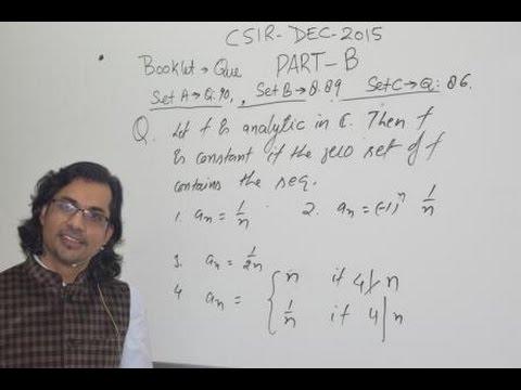 Csir net mathematics solved papers pdf