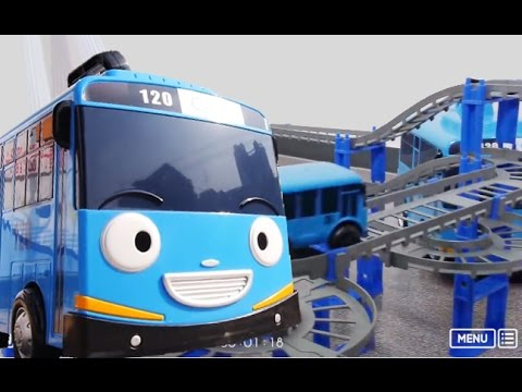 Thumbnail: BIGGEST TOY CARS TRACK FOR KIDS The Little Bus Tayo Trackmaster Accidents will Happen