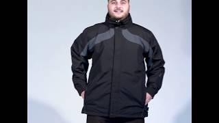 Aggression Trinidad Mens Plus Size Snow Jacket Black