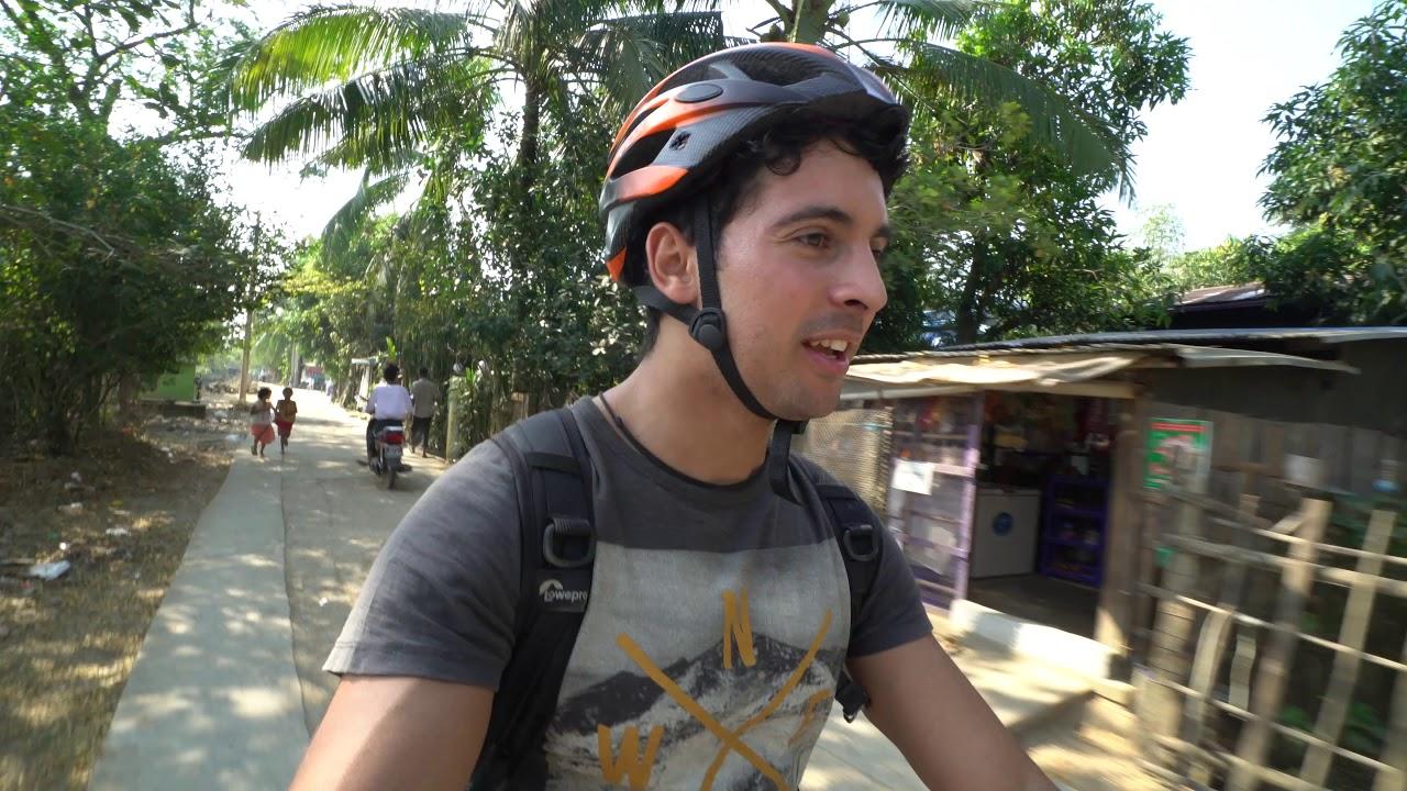 A Bike Tour in Yangon Country Side | Myanmar