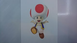 Time Lapse Drawing: Toad from