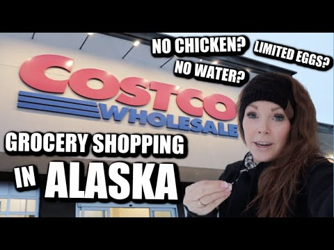 GROCERY SHOPPING IN ALASKA| WHY WE NEED TO PREPARE| SHOP WITH ME| Somers In Alaska