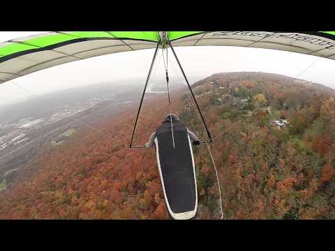 Hang Gliding to the Point of Lookout Mountain Chattanooga (unedited)