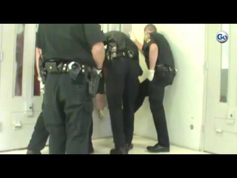 The Spartanburg County Sheriff's Office has released this video showing a physical altercation betwe