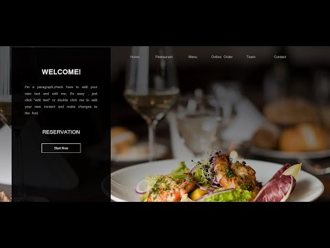 How to Make a Awesome Website for a Restaurant Using HTML & CSS