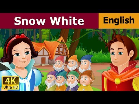 Snow White And The Seven Dwarfs in English  English Story  Bedtime Stories  English Fairy Tales
