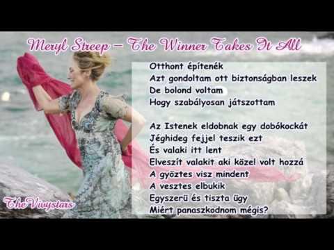 Meryl Streep - The Winner Takes It All (magyar) [720p]