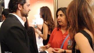 Hrithik & Sussanne Roshan, Sushmita Sen & Farah Khan at Farah Khan Ali's New Store Launch