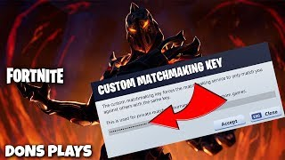 🔴 [EU] FORTNITE CUSTOM MATCHMAKING LOBBY COME JOIN (ALL WELCOME) ⛏ !GIVEAWAY 🔴