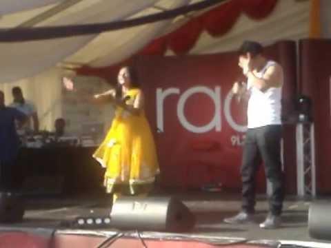 Karrara - Manny Khaira & Reena Kaur at Birmingham Mela 2013
