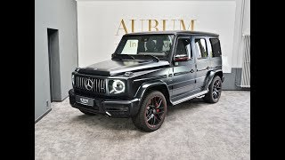 MERCEDES-BENZ G 63 AMG EDITION 1 (2019) BLACK MAGNO Walkaround by AURUM International