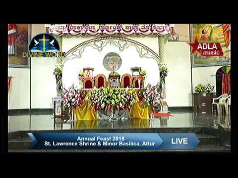Annual Feast 2018 St. Lawrence Shrine & Minor Basilica, Attur, Karkala