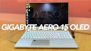 Gigabyte Aero 15 OLED: The Creators Gaming Notebook