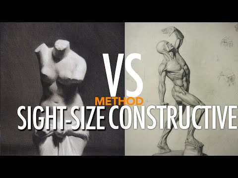 Sight-Size method Vs Constructive (Analytical) method! one more time:)