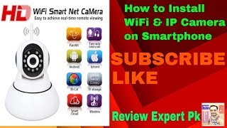 HOW to INSTALL 360Eye WIFI CAMERA on Smartphone step by step
