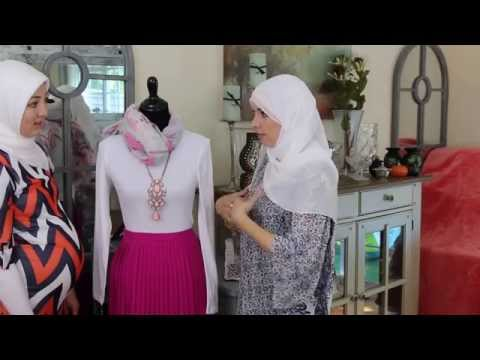 Modest Muslim Fashion - 3 Looks with Pink Pleated Macy's Skirt
