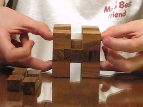Asunder Cube Puzzle Assembly Solution By Andrew