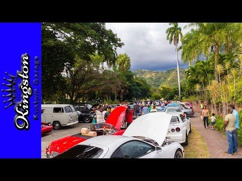 Jamaica Classic Car Club Jan 2017 Meet ( Ford, MG, Mini, VW, Chevy, GTR, Supra, Audi )