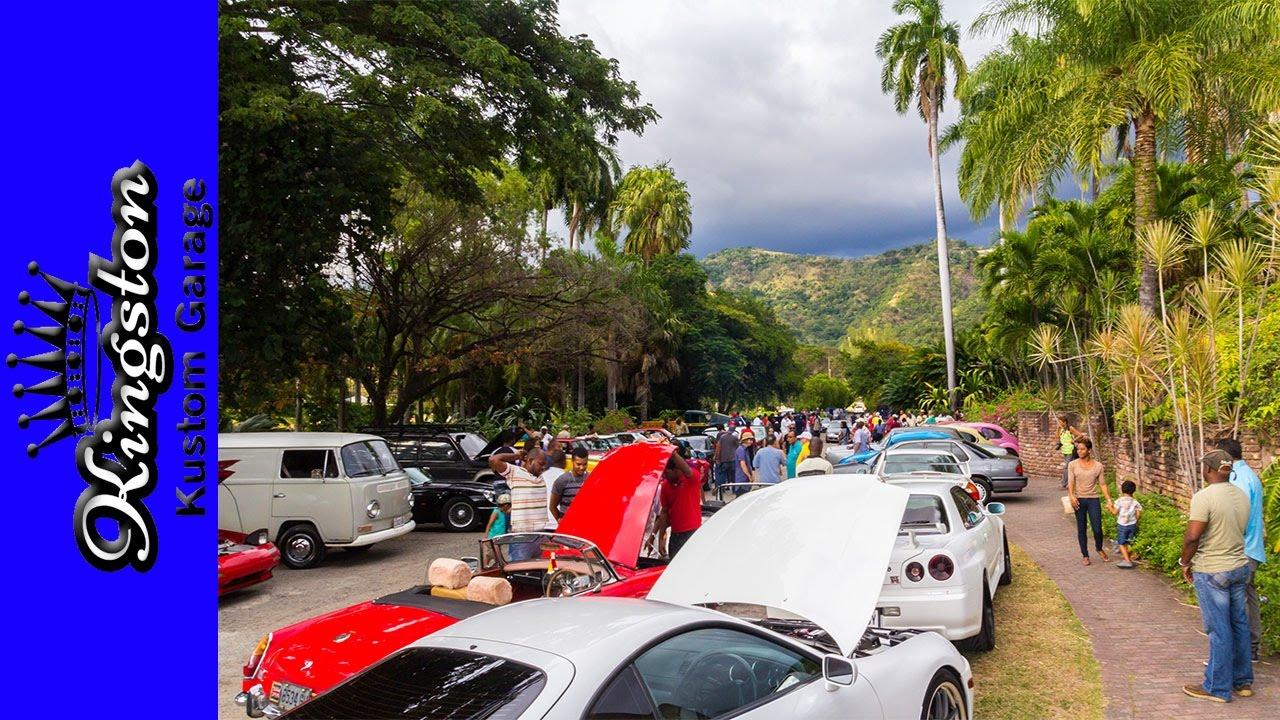 Vintage Cars For Sale In Jamaica: Jamaica Classic Car Club Jan 2017 Meet ( Ford, MG, Mini