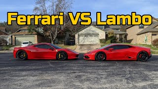 Ferrari Owner Reviews a Lamborghini Huracan and thinks it's a piece of...